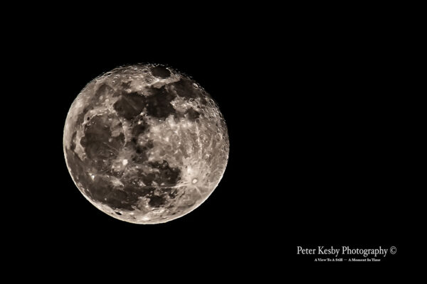 Say Hello To The Full Moon