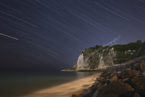 Shakespeare Beach - Star Trails