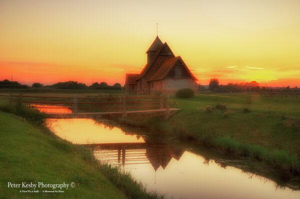 St Thomas A Becket Church - Sunset - #1