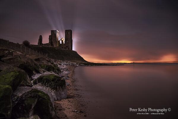 Reculver Towers - Spotlights