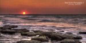 Reculver - Sunset - Panoramic