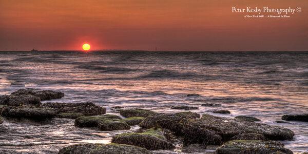 Reculver - Sunset - Panoramic