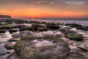 Reculver - Sunset - Rocks