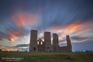 Reculver Towers - Long Exposure