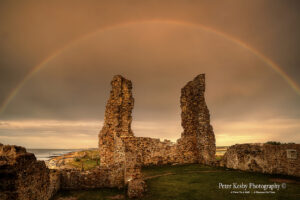Reculver Towers - Rainbow