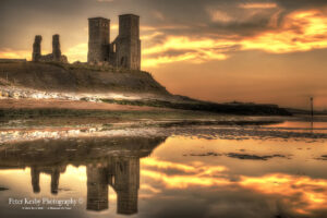 Reculver Towers - Reflection - #1