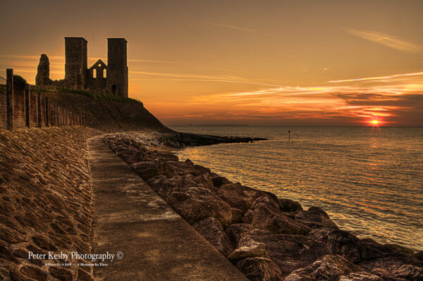 Reculver Towers - Sunset - #2