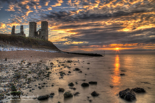 Reculver Towers - Sunset - #3