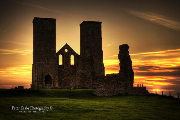 Reculver Towers - Sunset - #4