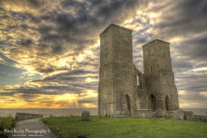 Reculver Towers - Sunset - #5