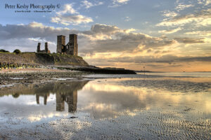 Reculver Towers - Reflection - #2