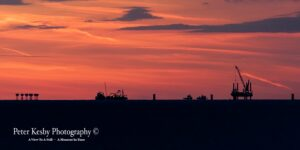Reculver - Horizon - Sunset
