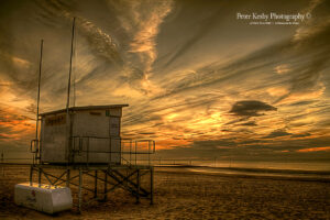 Lifeguard Hut - Margate - Sunset