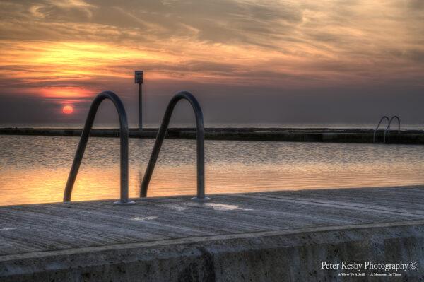 Lido - Sunset - Margate