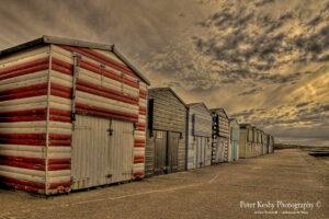 Minnis Bay - Beach Huts - Sunset