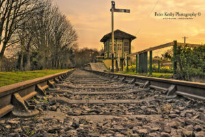Eythorne Station - Sunset - #1