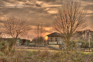 Eythorne Station - Sunset - #2