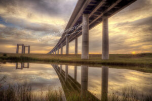 Sheppey Crossing - Sunset - #2