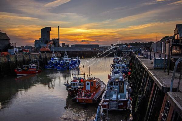 Whitstable Harbour - Sunrise