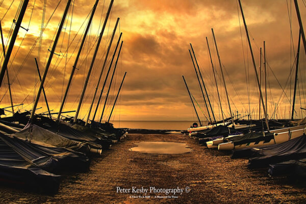 Yachts - Whitstable - Sunset