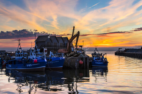 Whitstable Harbour - Sunset