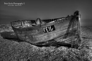 Small Fishing Boat - Dungeness - Mono