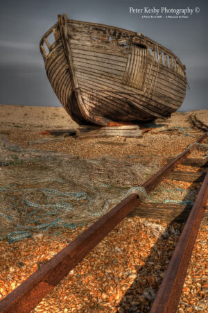 Track - Fishing Boat - Dungeness