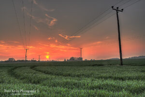 Pylons - Sunset - #2
