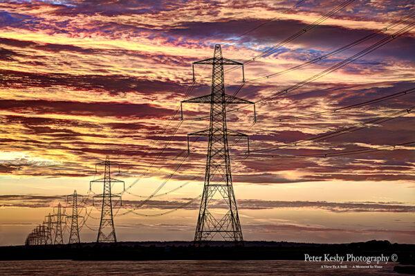 Pylons - Sunset - #1