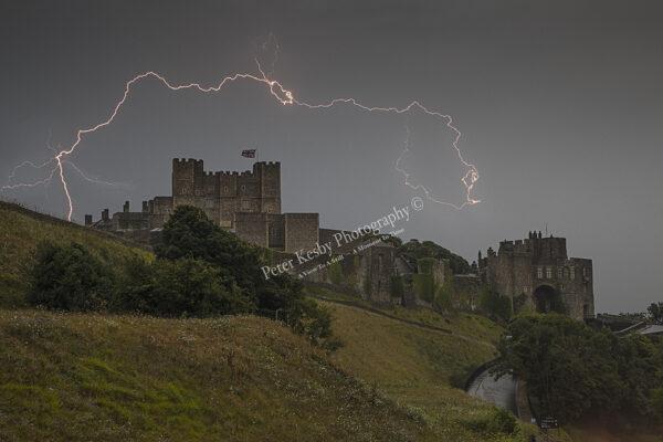 Dover Castle - Lightning