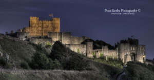 AA002 Dover Castle Fllodlit Night