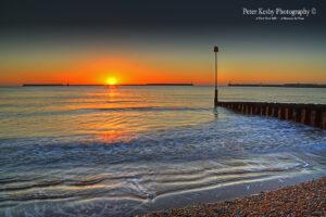 AF007 morning sunrise seafront