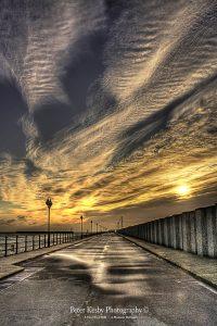 AF014 sunrise first half of princes pier