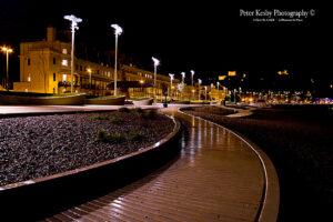 AF017 seafront night