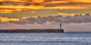 AF018 breakwater sunrise pano