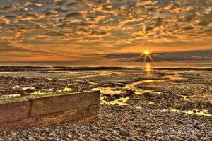 AG010 st margs sunrise groyne from left