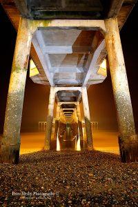 AK013 under deal pier colour long exposure poprtrait