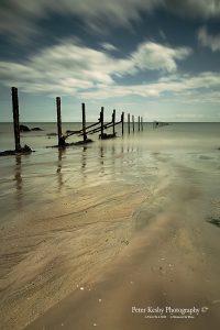 AO016  warren low tide long exposure groyne