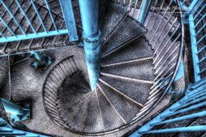 AZ006 spiral staircase