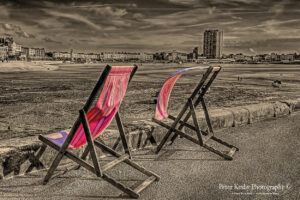 BB001 margate popped deckchairs