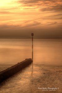 BB007 groyne margate portrait sunset