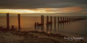 BC007 minnis bay sunset panoramic