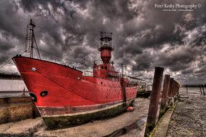 BQ004 lightship gillingham pier